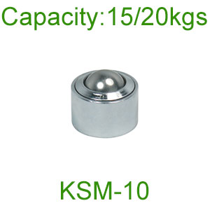 KSM-10 10mm 20kg Load Ball Transfer Units